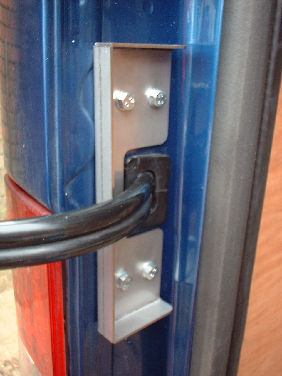 Ford Transit Van Loom Guards
